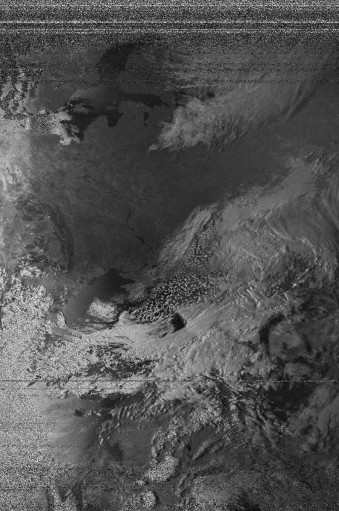NOAA 15 northbound 90E at 29 Mar 2014 13:52:19 GMT on 137.62MHz