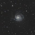 """Галактика М101 """"Вертушка"""""""