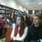"""Публічна лекція з астрономії у книгарні """"Є"""""""