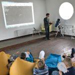 Відкритий урок для учнів молодших класів з асторономії у Студії 18