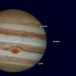 Подвійний транзит супутників Юпітера 5 червня 2017