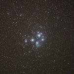 """Галактика Андромеди, туманності """"Північна Америка"""" і """"Пелікан"""", розсіяне зоряне скупчення """"Стожари"""" або """"Плеяди"""""""