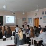 """Зустріч з учнями Сумської школи №27 в рамках міжнародного проекту """"50 Hours for 50 Nations"""""""