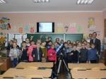 Відкритий урок з астрономії в Сумській школі №18