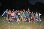 Другий астрономічний вечір в таборі Грунівська січ